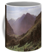 Mountain Study Coffee Mug by Alexandre Calame
