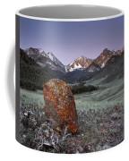 Mountain Textures And Light Coffee Mug