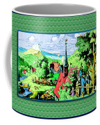 Mountain To Child And Lots Inbetween. Coffee Mug