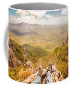 Mountain Valley Landscape Coffee Mug