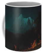 Mountainous Landscape By Moonlight Coffee Mug