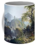Mountainous Landscape Near Duesseldorf Coffee Mug