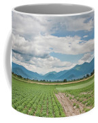 Mountains And Fields Coffee Mug