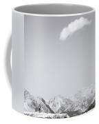 Mountains Are The Beginning And The End Of All Natural Scenery. Coffee Mug