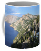 Mountains Around Crater Lake Coffee Mug