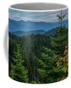 Mountains Around Priest Lake Coffee Mug