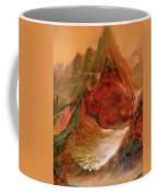 Mountains Fire Coffee Mug