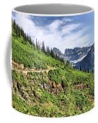 Mountains In Glacier National Park 1 Coffee Mug