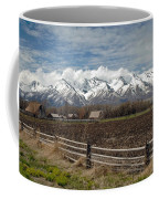 Mountains In Logan Utah Coffee Mug
