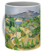 Mountains In Provence Coffee Mug by Paul Cezanne