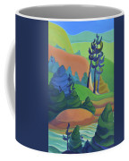 Hills In Spring Coffee Mug