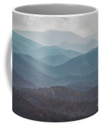 Mountains On Blue Ridge Parkway Coffee Mug