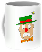 Mournful Clown Coffee Mug