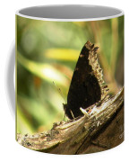 Mourning Cloak Butterfly Coffee Mug