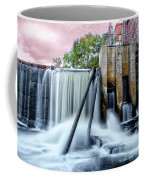 Mousam River Waterfall In Kennebunk Maine Coffee Mug