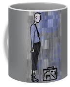 Moustache Salesman Coffee Mug