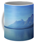 Moutains In Blue Coffee Mug