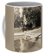 Movie Star About To Dive Coffee Mug