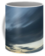 Moving Clouds Abstract Background Coffee Mug