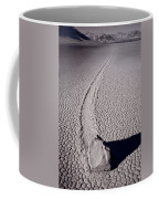 Moving Rocks Number 2  Death Valley Bw Coffee Mug