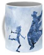 Mowgli And Baloo-blue Coffee Mug