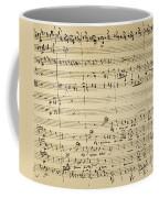 Mozart: Requiem Excerpt Coffee Mug