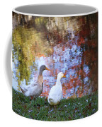Mr And Mrs Duck Coffee Mug