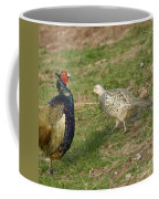 Mr And Mrs Pheasant Coffee Mug