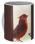 Mr Cardinal Coffee Mug by Maxine Billings