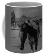 Mr Ed In Black And White Coffee Mug
