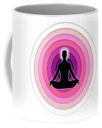 Meditation With Yoga Coffee Mug