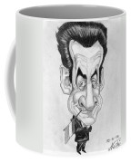 Mr Nicolas Sarkozi Caricatur Portrait Coffee Mug