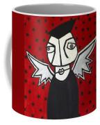 Mr.creepy Coffee Mug by Thomas Valentine
