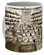 Mrs. Butts Mortar And Pestle Collection Found In San Benito Co. Coffee Mug