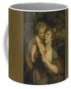Mrs Hartley As A Nymph With A Young Bacchus Coffee Mug
