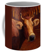 Mrs. O'leary's Cow Coffee Mug by James W Johnson