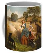 Mrs Schuyler Burning Her Wheat Fields Coffee Mug