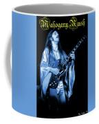Mrsea #40 Enhanced In Blue With Text Coffee Mug