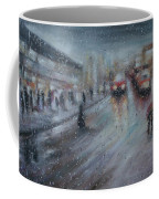 Christmas Rain Shopping Coffee Mug