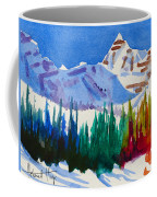 Mt. Athabasca, Jasper Coffee Mug