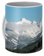 Mt Baker And Clouds Coffee Mug