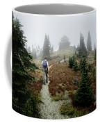 Mt Brown Lookout - Glacier National Park Coffee Mug