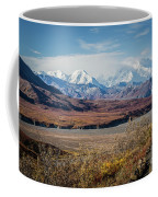 Mt Denali View From Eielson Visitor Center Coffee Mug
