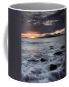 Mt. Edgecumbe Sunset Coffee Mug