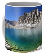 Mt Hitchcock Over Lower Hitchcock Lake 2 - Sierra Coffee Mug