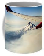 Mt Hood Aerial View Coffee Mug