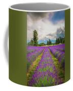 Mt. Hood And Lavender Coffee Mug