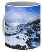 Mt. Hood Morning Coffee Mug by Mike  Dawson