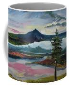 Mt Hood Winter Sunrise Coffee Mug