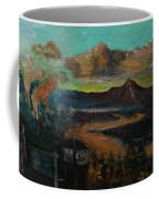 Mt Hood With Paper Mill Coffee Mug